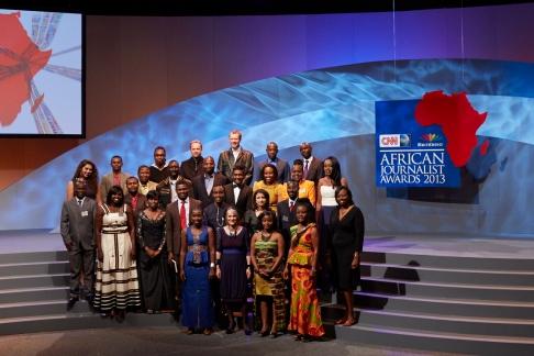 African Journalist Awards Finalists 2013s